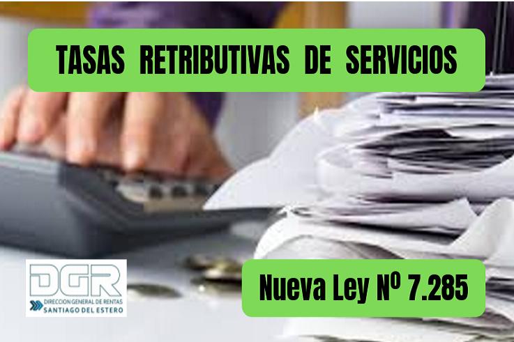 TASAS RETRIBUTIVAS DE SERVICIOS